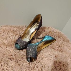 Sparkling Badgley Mischka shoes